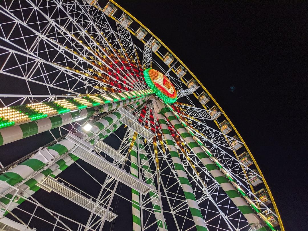 Schueberfouer's (Luxembourgish fair) big wheel