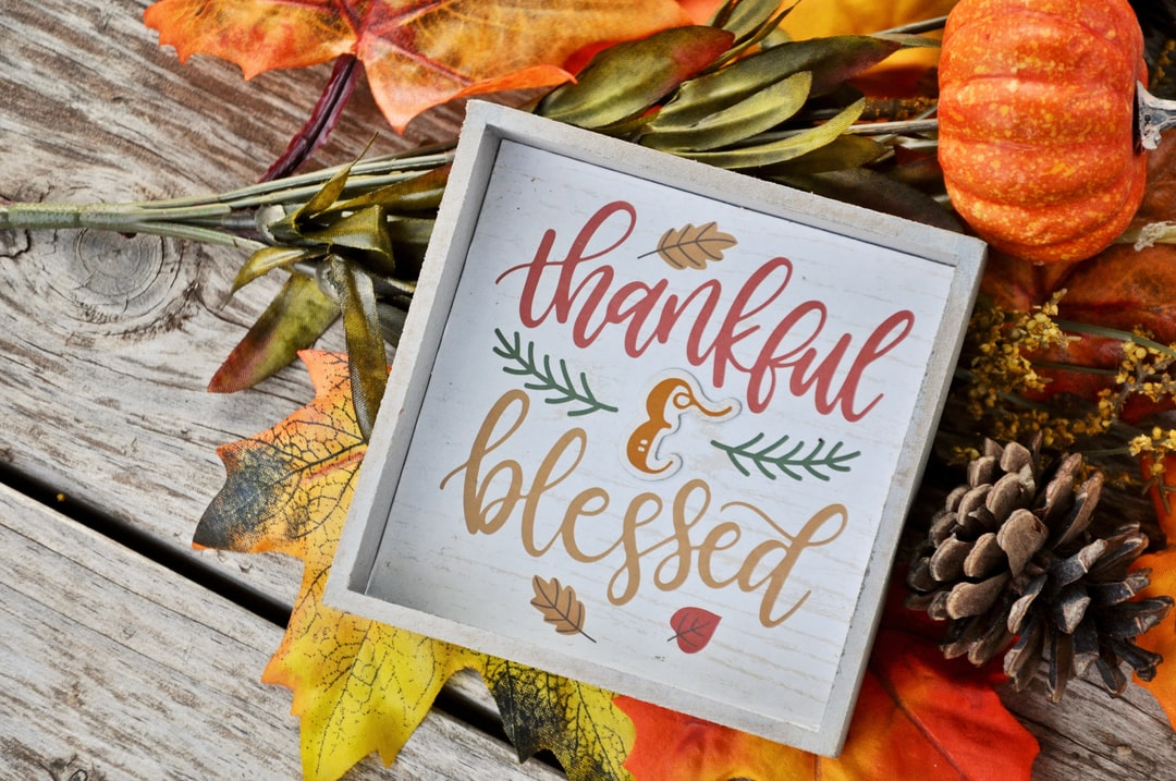 Thankful and Blessed Autumn photo