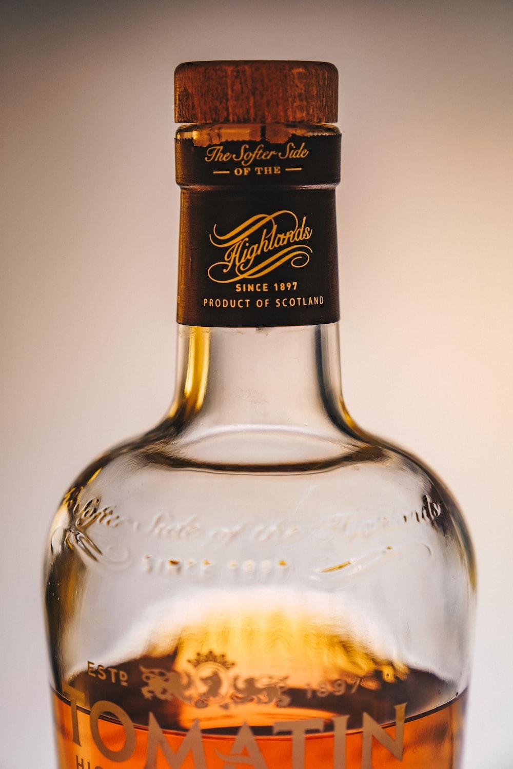 Tomatin liquor bottle