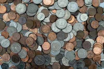 assorted coin collection coins zoom background