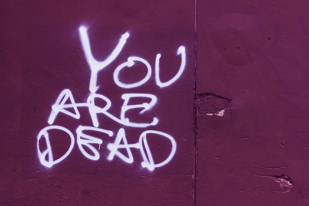 you are dead text\