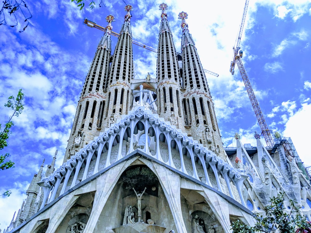 Holy Family Church, Barcelona during daytime
