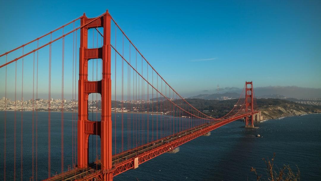 Golden gate Bridge from Marin Overlook