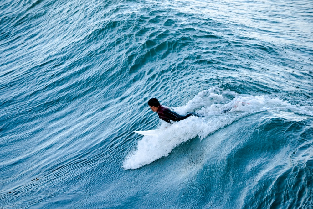 surfing person