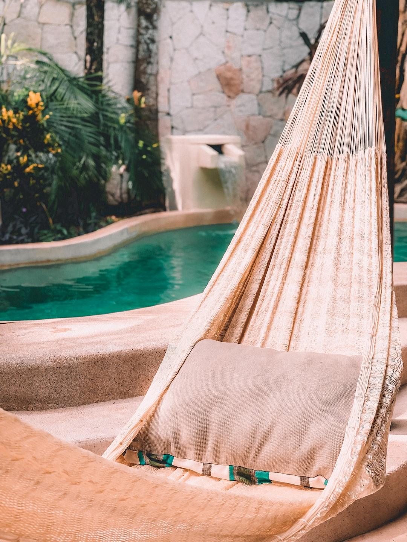 Hammock in your private pool villa