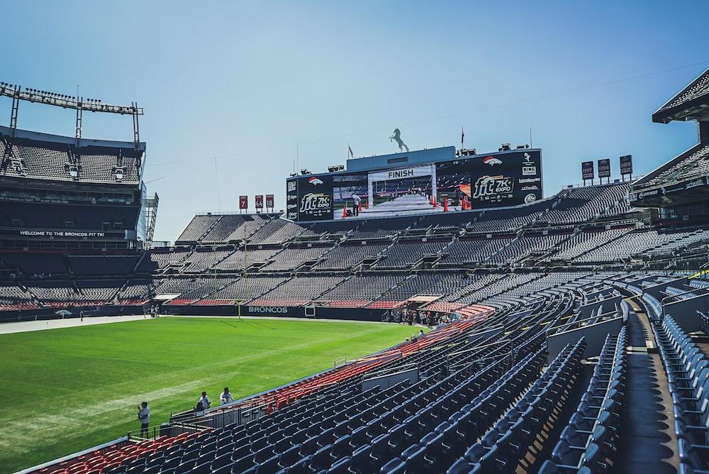 open stadium during daytime