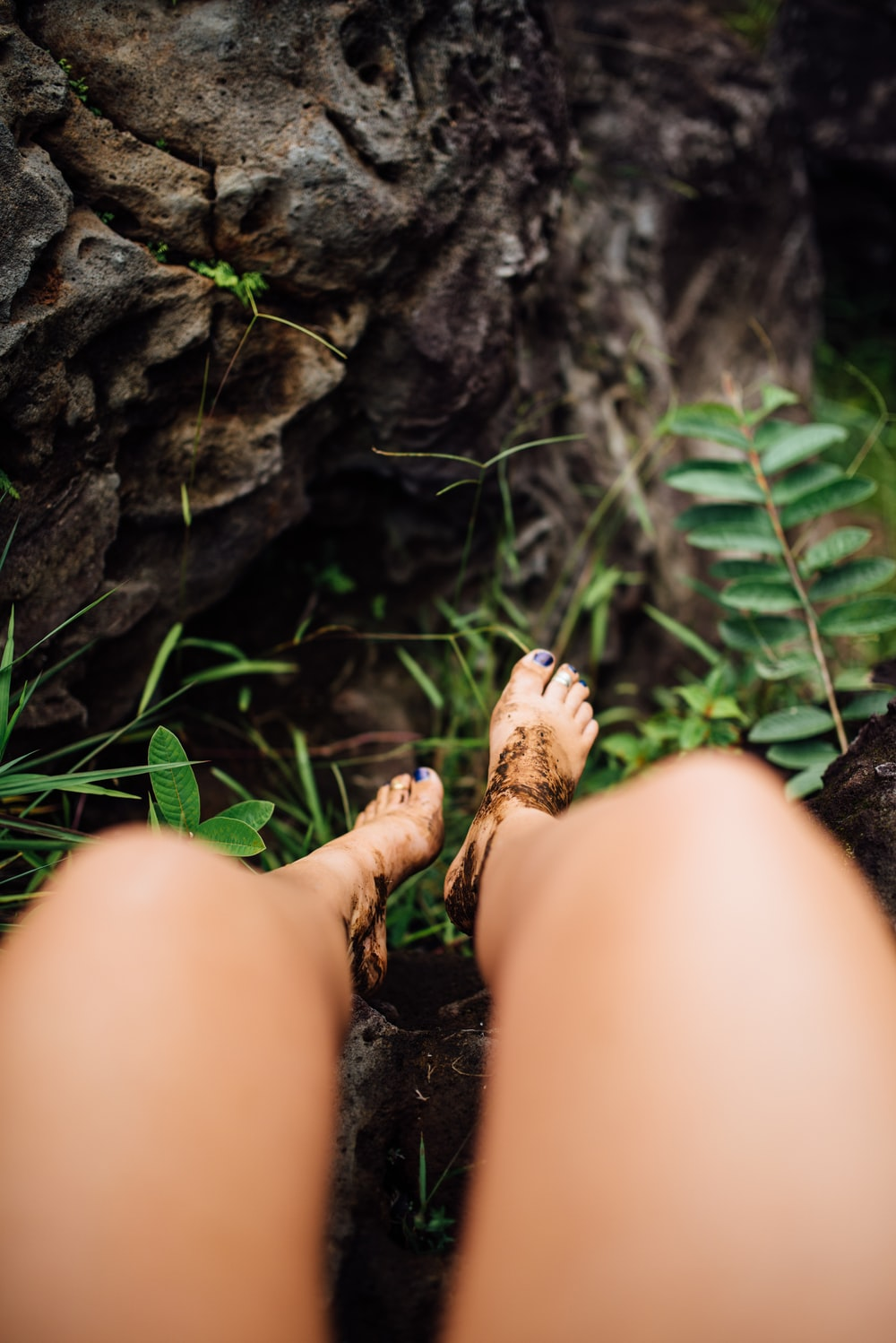 photo of person legs