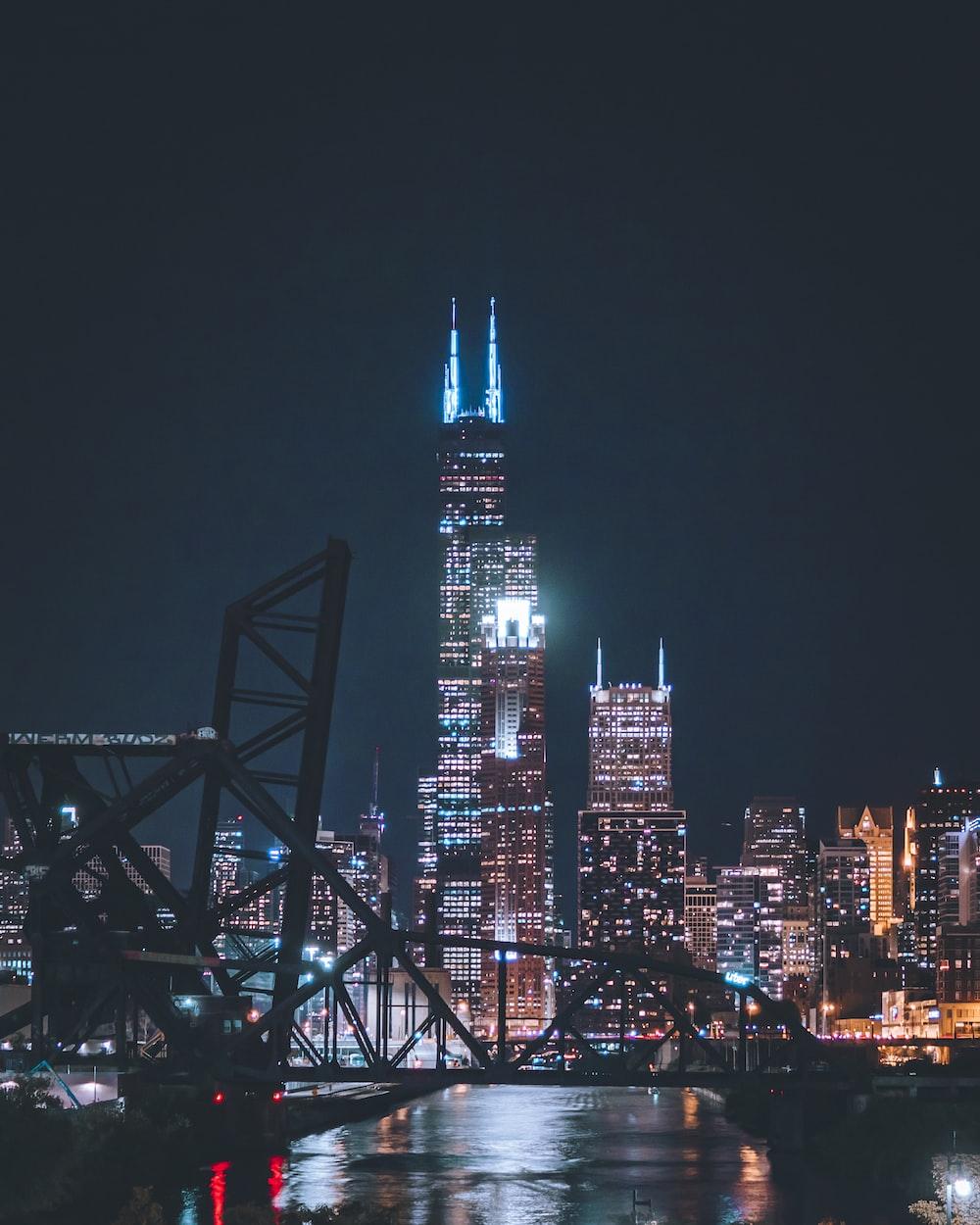 photo of city building