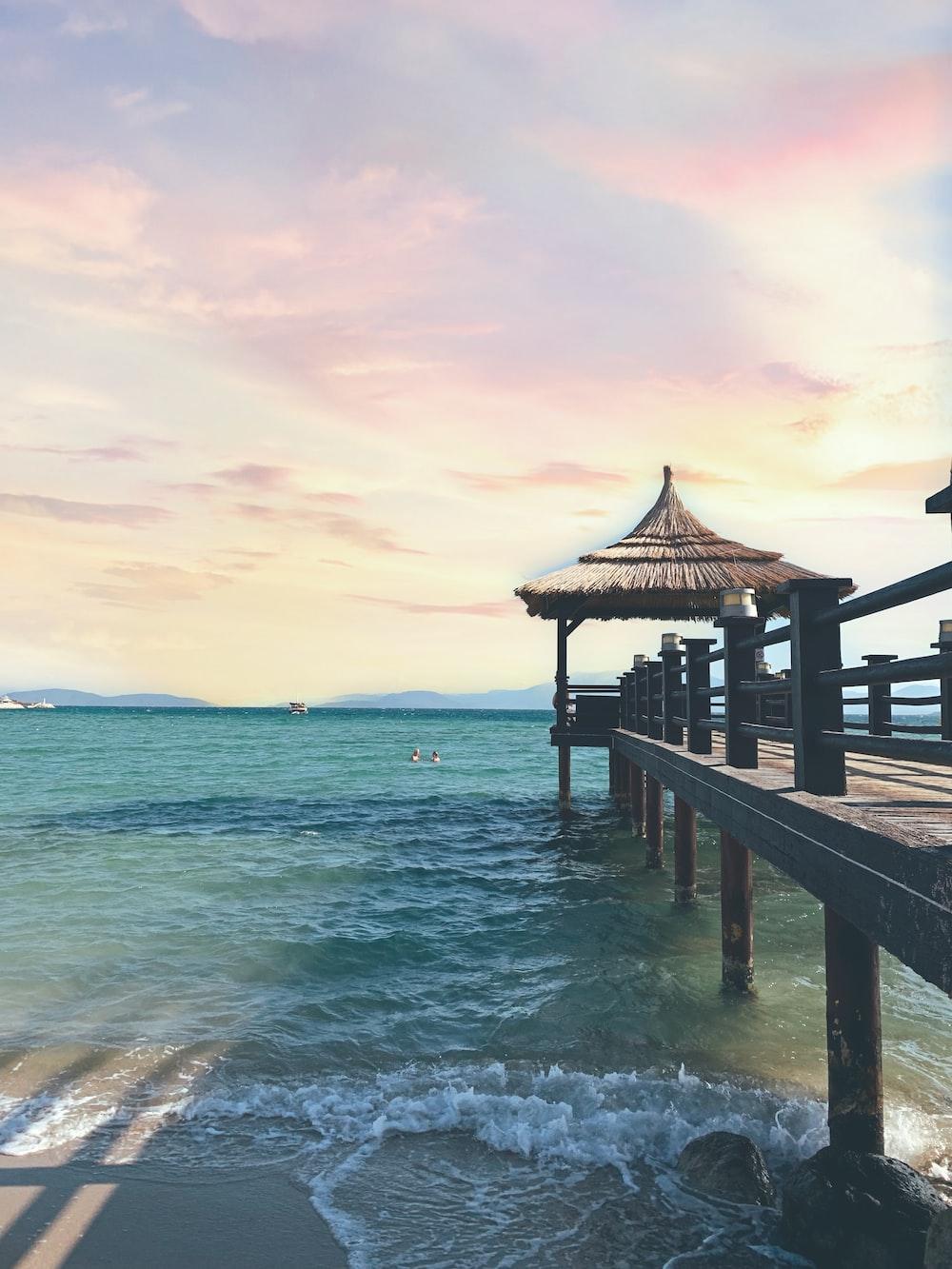 Gazebo by the sea