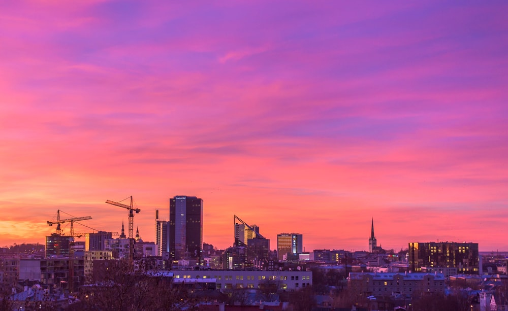 photo of panorama city buildings