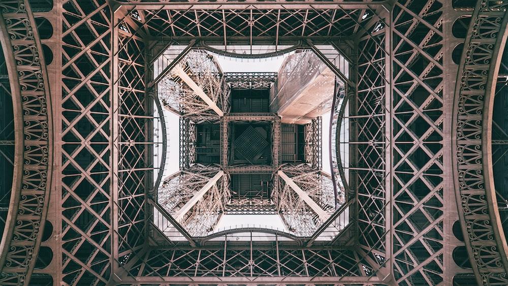 Eiffel Towel up view