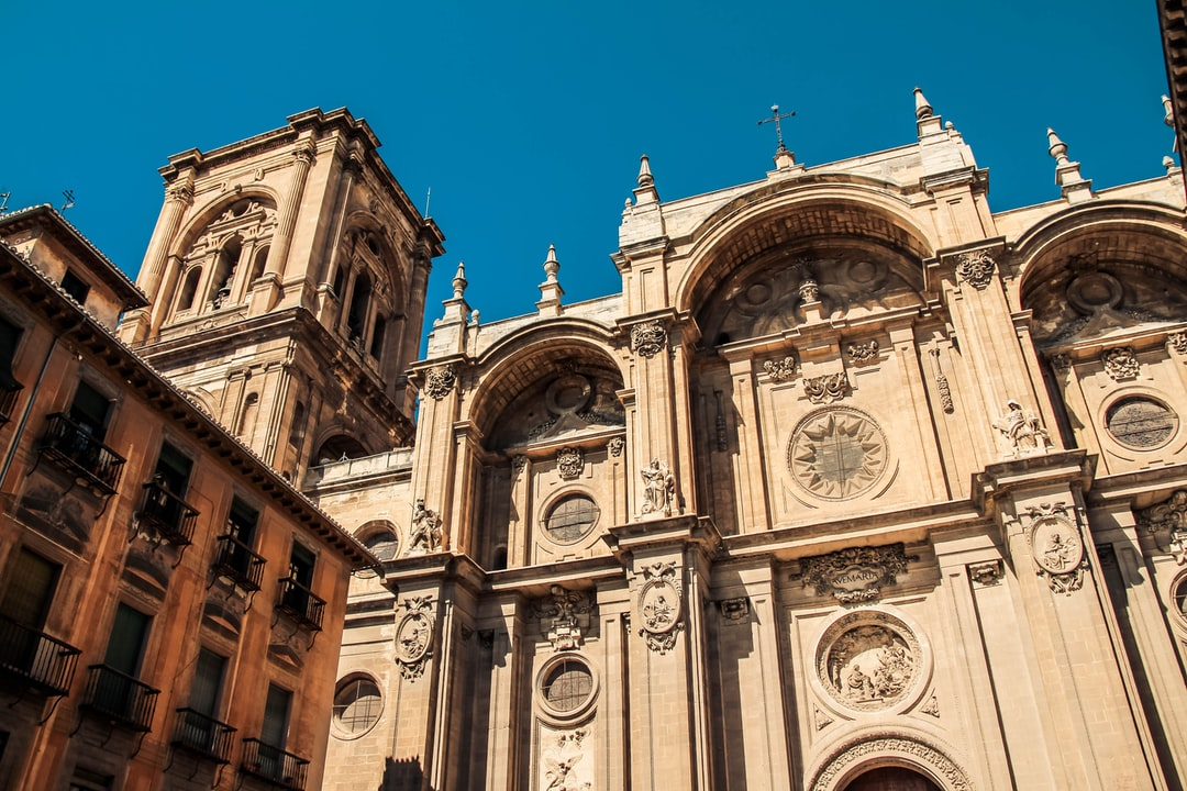 Point of view of Cathedral of Granada