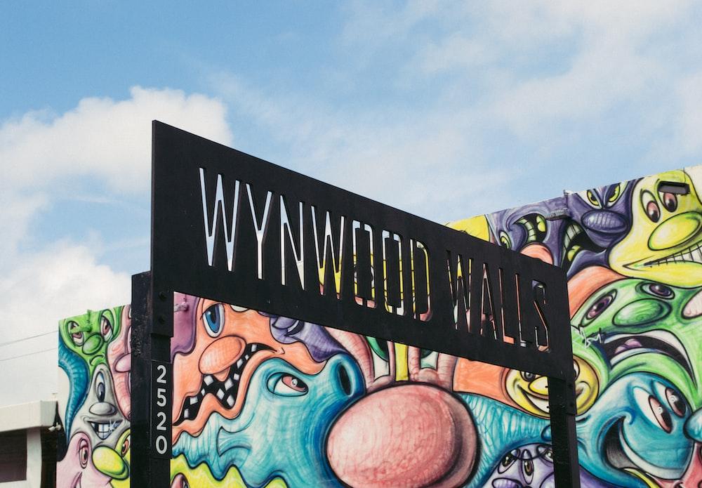 Wynwood Walls signage at daytime
