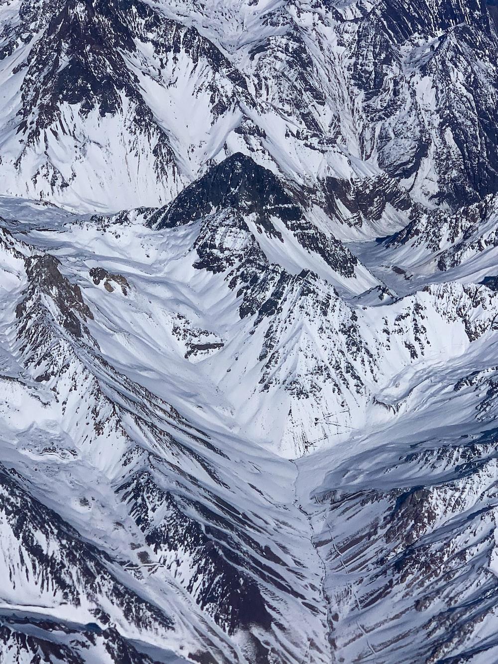 glacier mountain during daytime