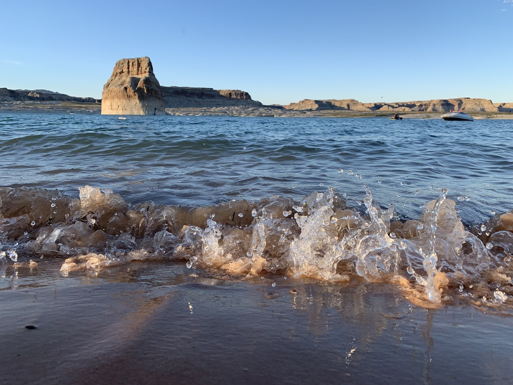 splash body of water