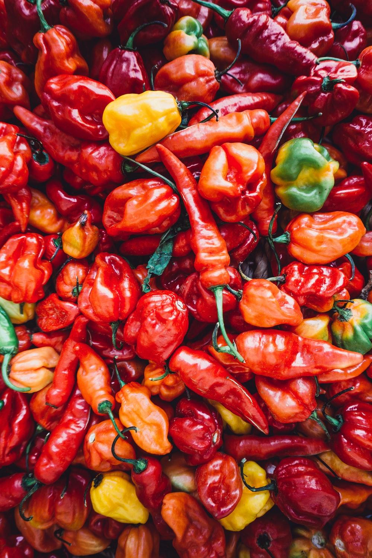 pile of chili