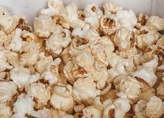 popcorn in the box