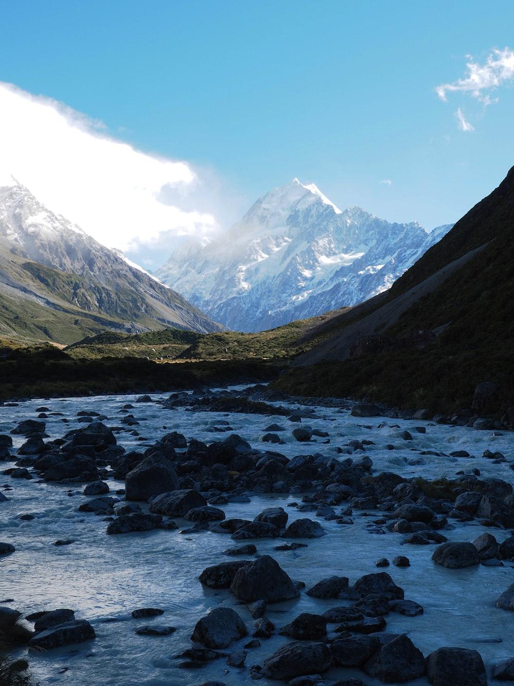river near mountain