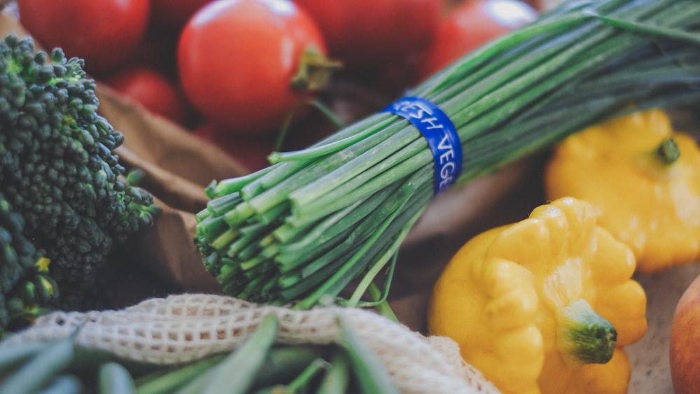 assorted varieties of vegetables
