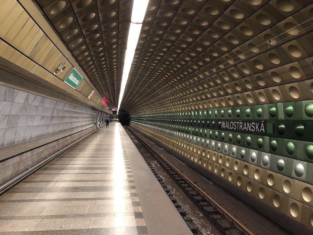 brown train station