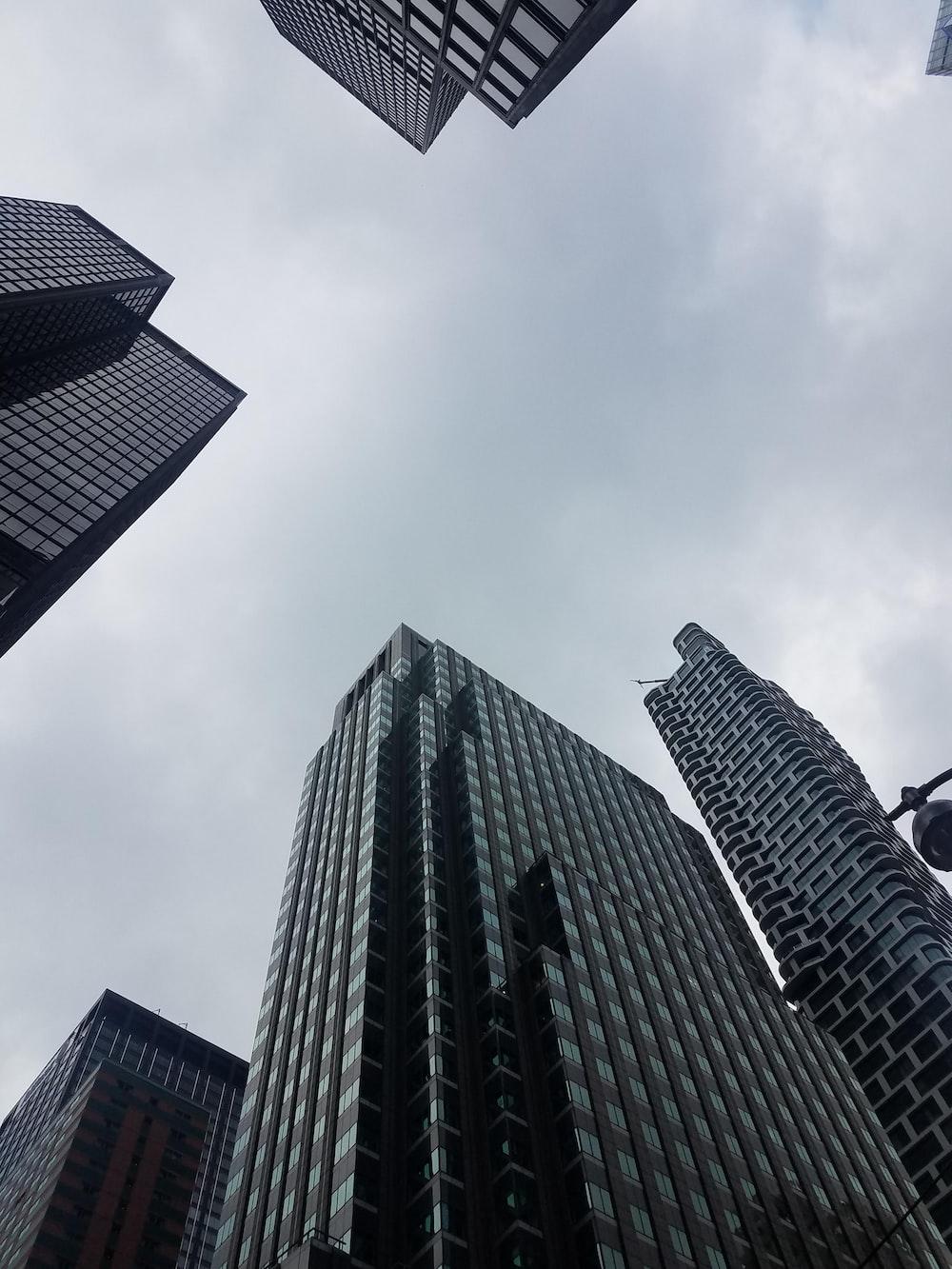 black concrete building