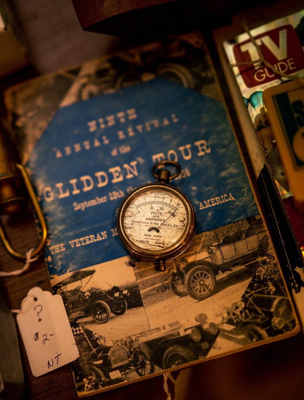 Glidden Tour book