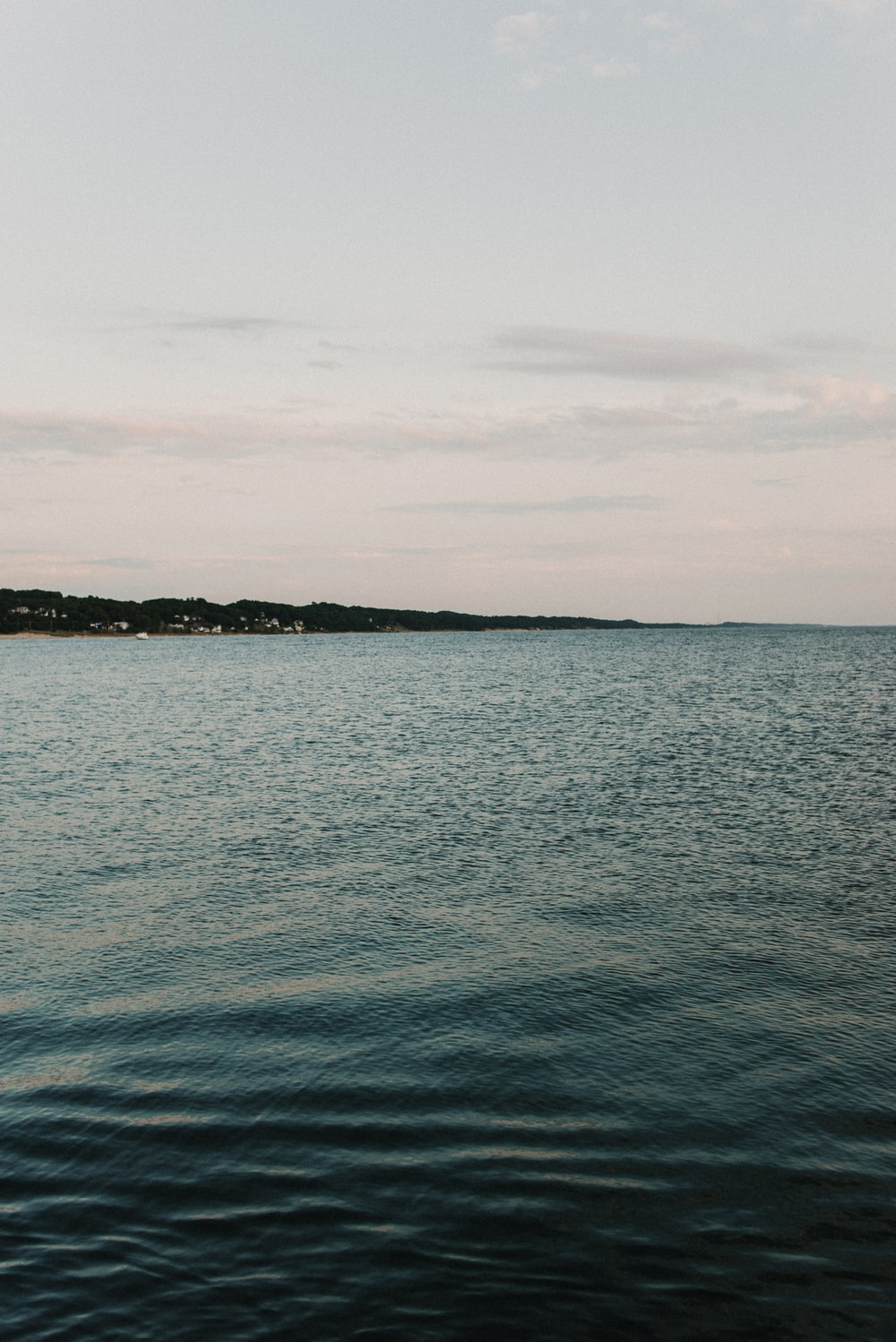 body of water during day