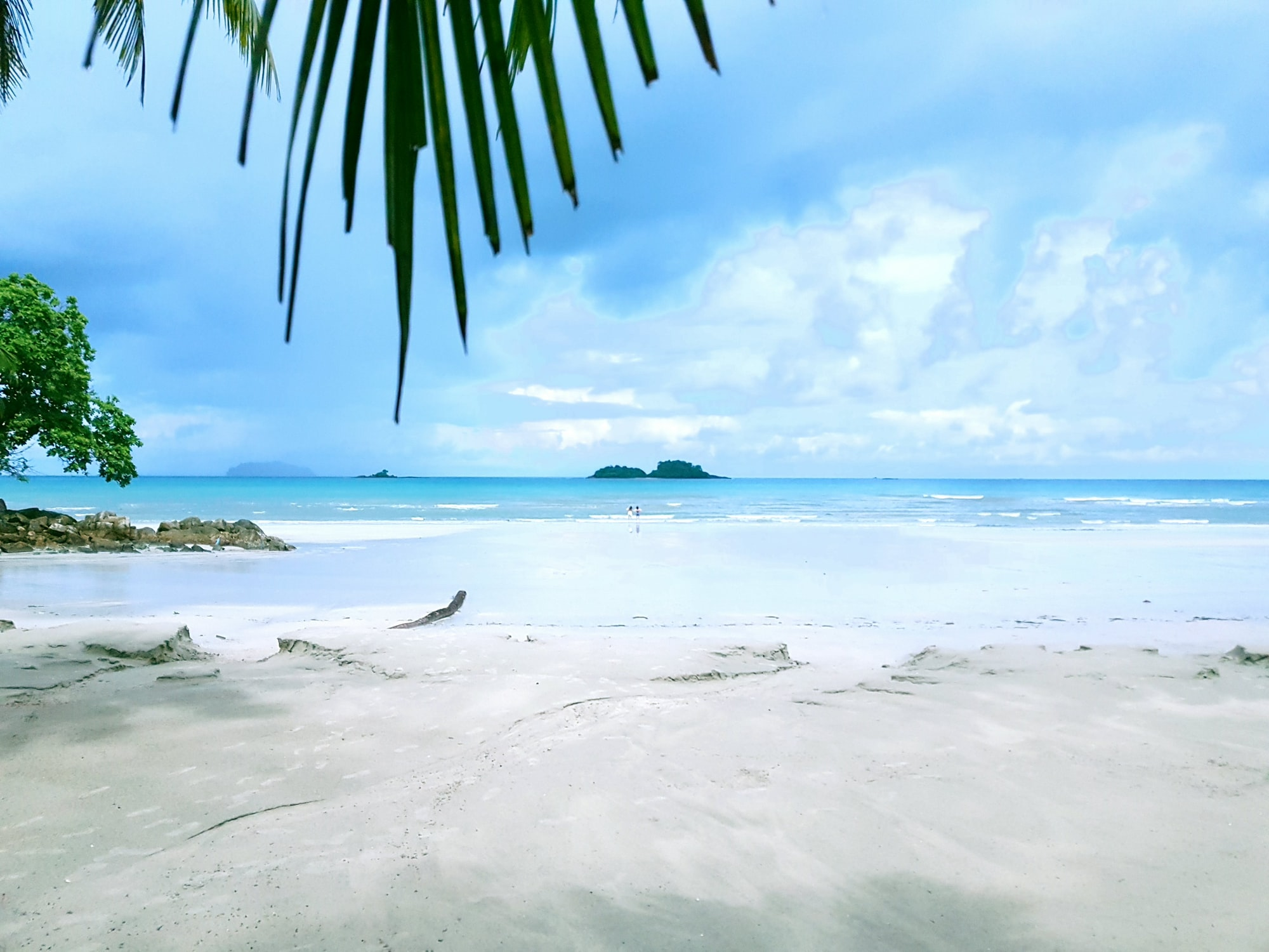 Koh Chang Thailand whitesand beach empty lovely vacant beach