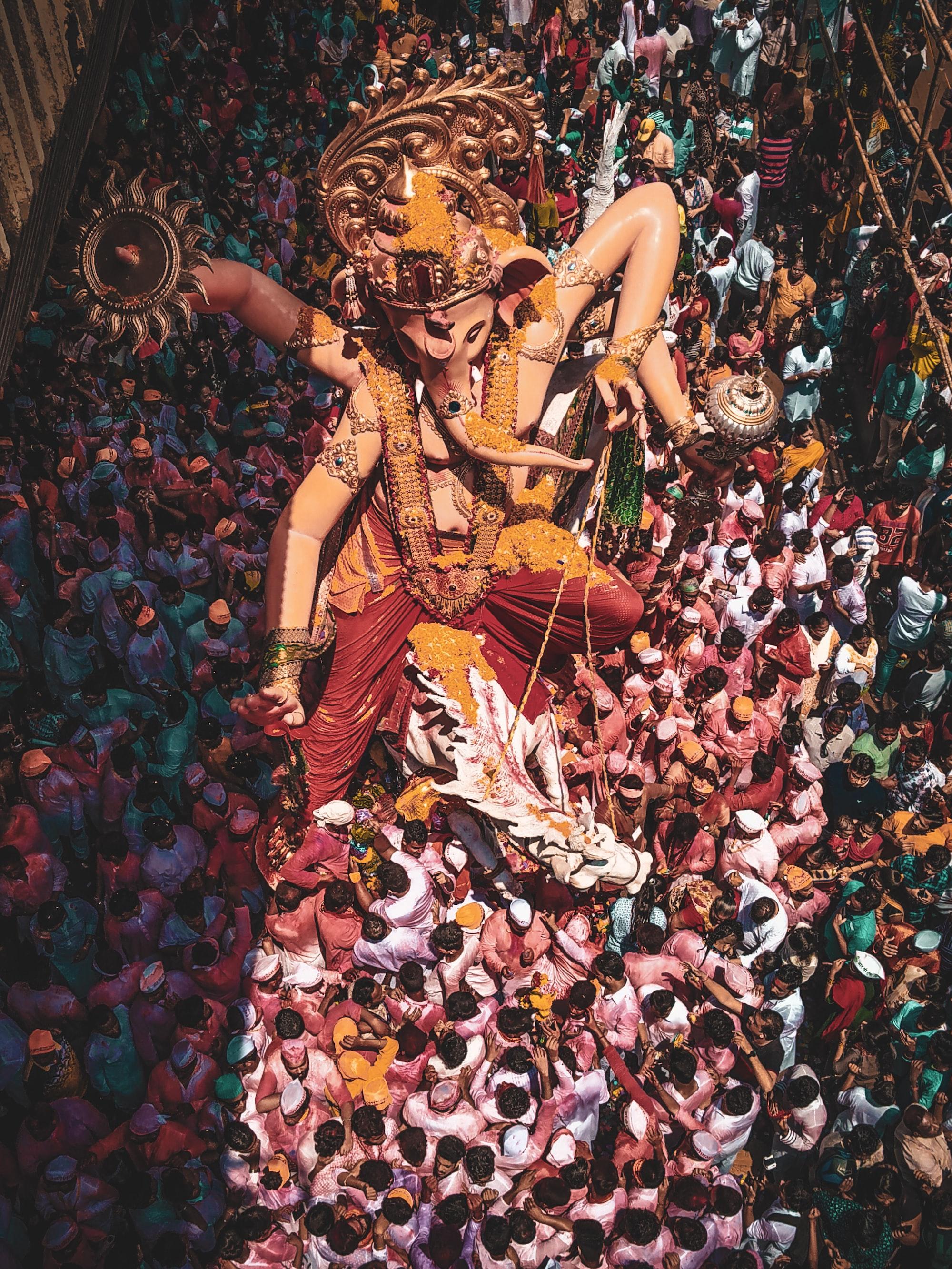 mumbai cha raja ganesh galli 2018 2019 2020 india mumbai maharashtra