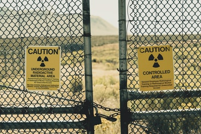 I had to drive through Idaho and decided to take a back road. That's when I came across this fence with many radiation warning signs. Naturally, I took a picture.