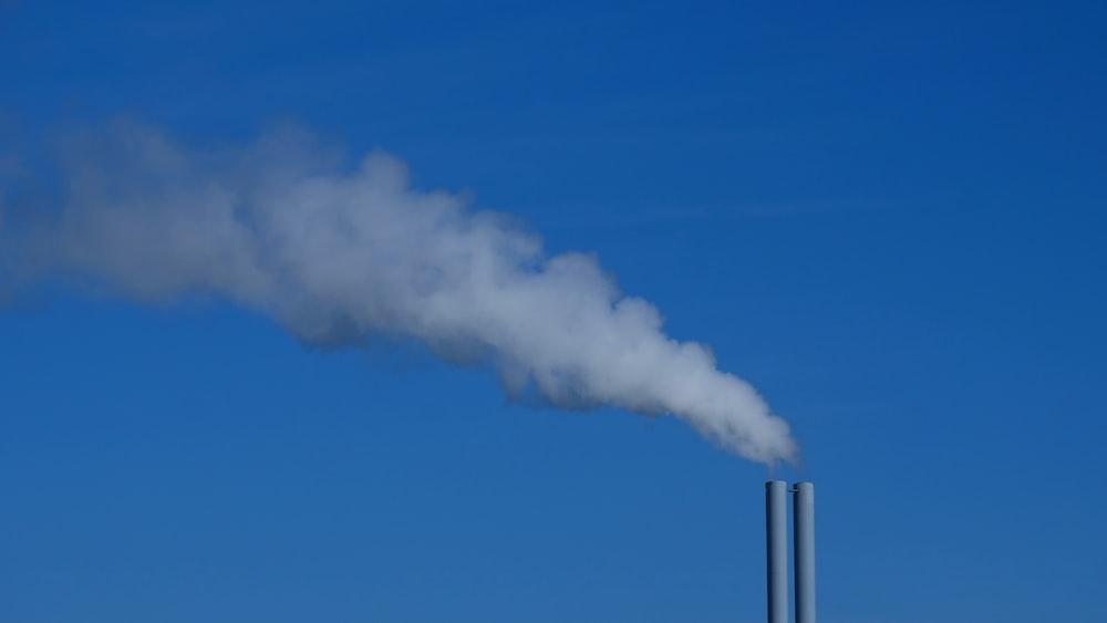 factory chimney emitting smoke