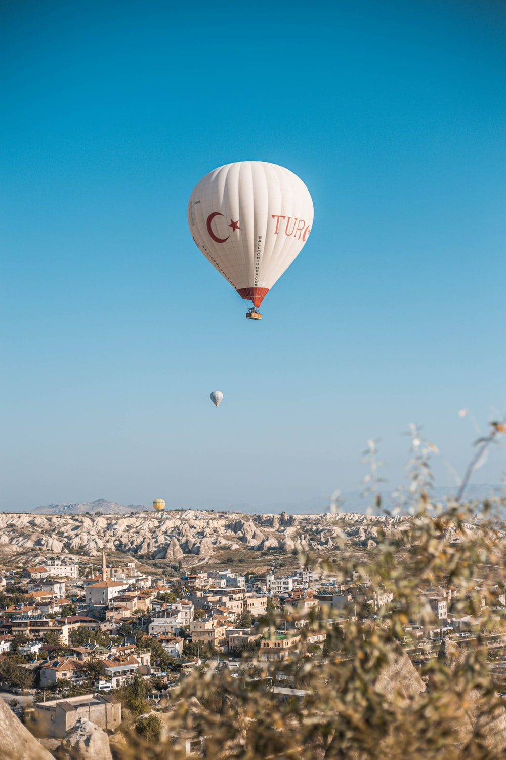 aerial-photography of hot air balloon