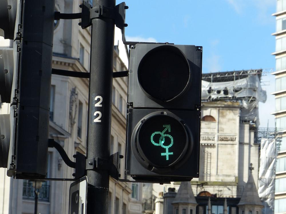 traffic light during daytime