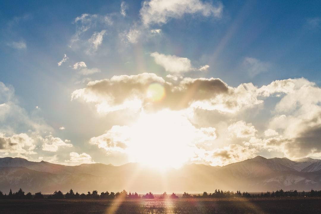 Mountains sunset, Mendoza