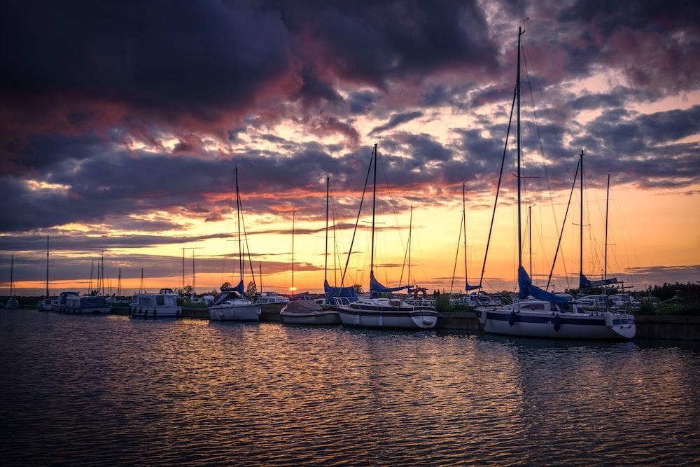 sailboats near doc k