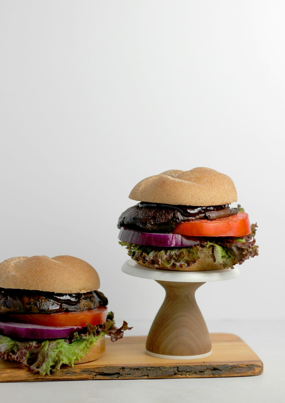 burger with patties