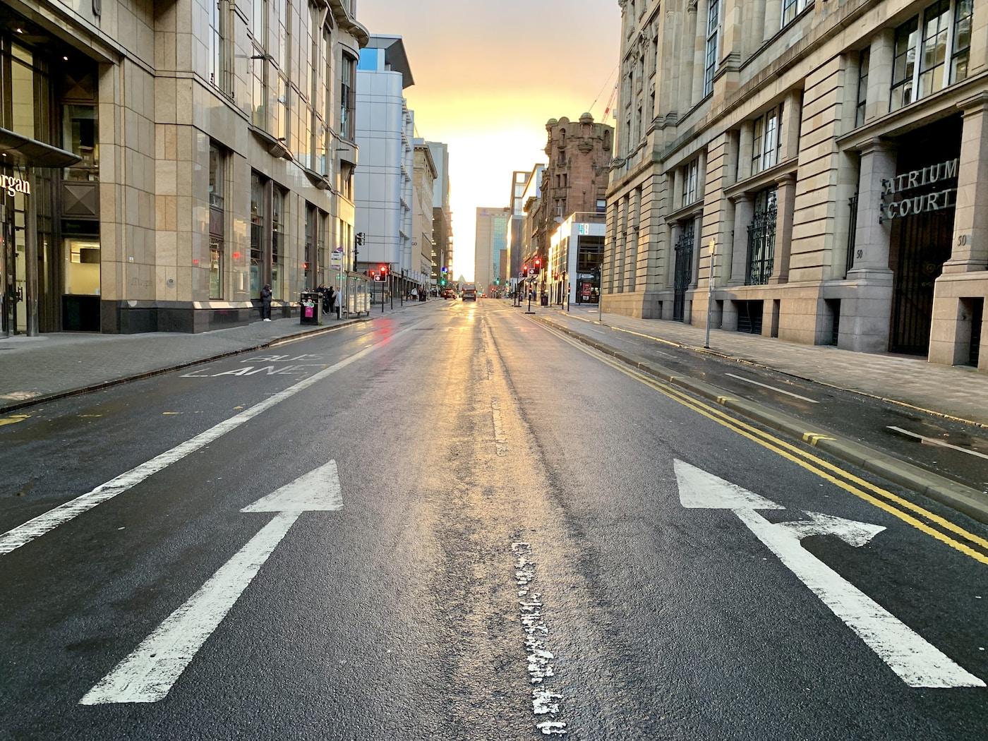 TechCrunch Survey. selective focus photo of concrete road