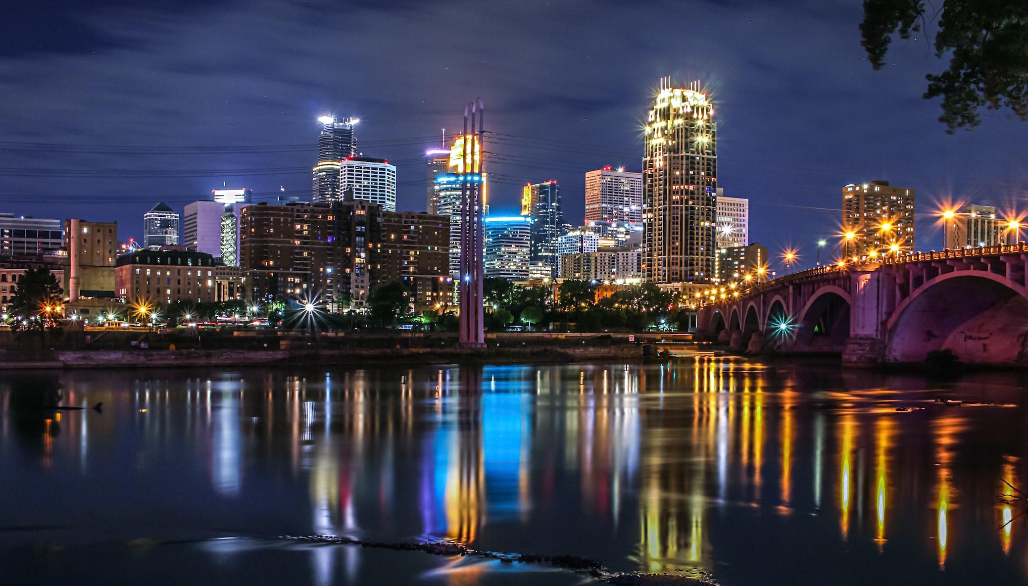 MN city skyline