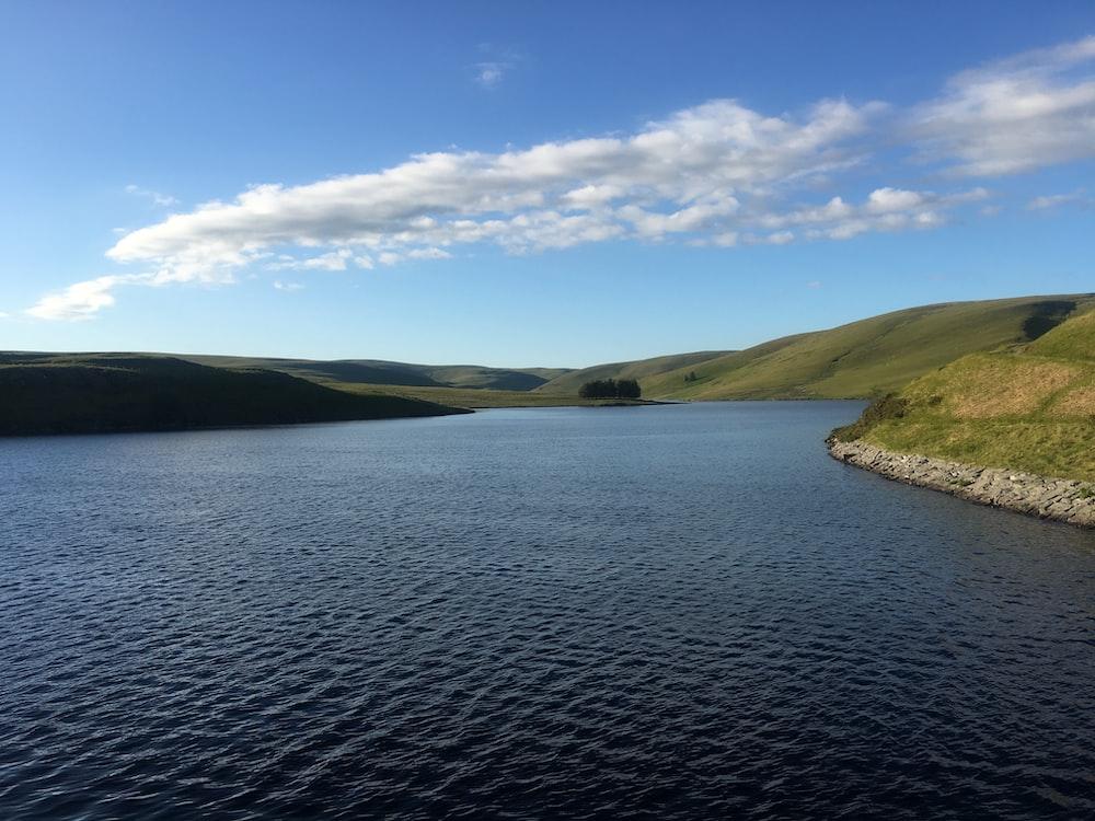 calm lake during daytime