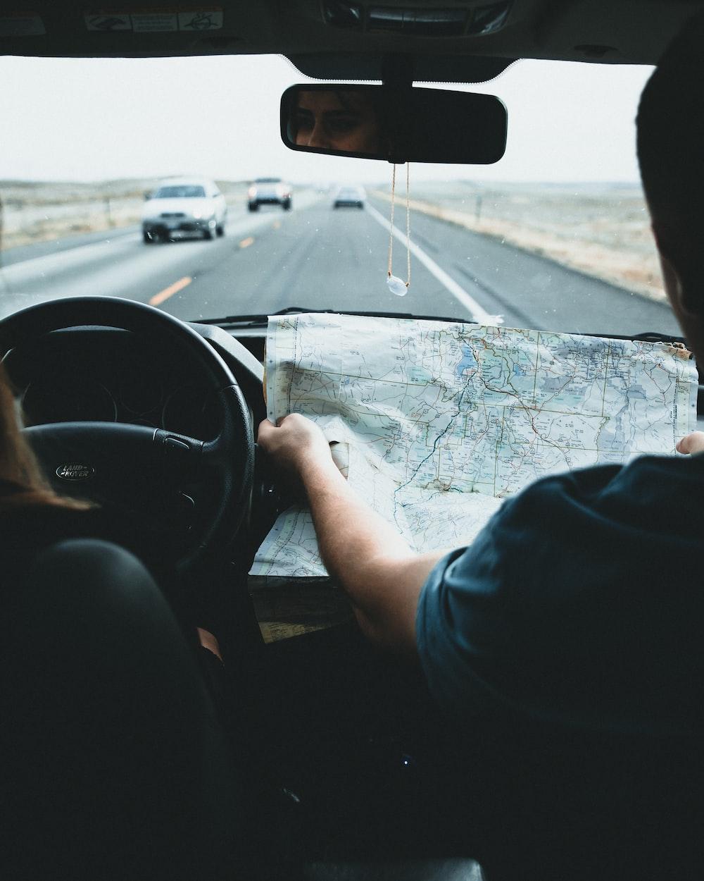 people inside vehicle