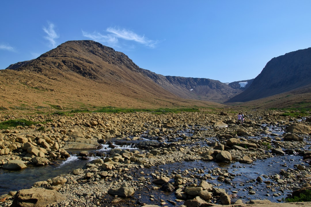 Tablelands, the earth's mantle pushed through the crust