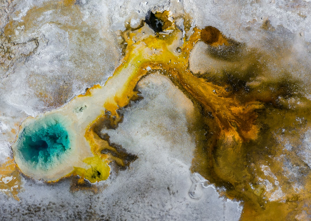 One of the best closeups i got of a thermal pool at Yellowstone National Park and the final photo in my series. The natural colors and clouds of steam in this photo blow me away. You just can't capture these views from the ground. I'm not sure if drones are even allowed at the park but these unique perspectives deserve to be seen.