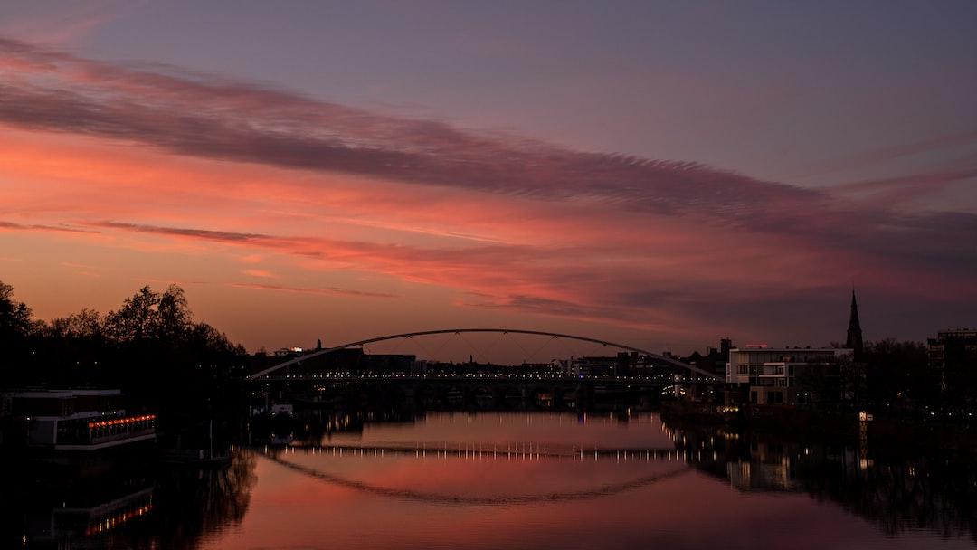 Maastricht, Netherlands, Sunset