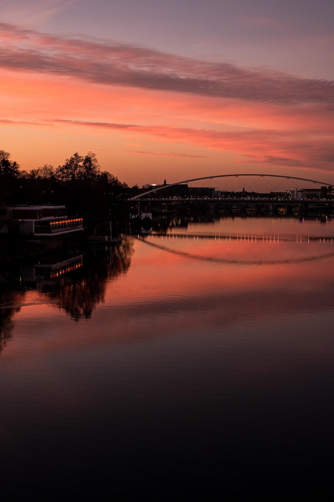 Maastricht, Netherlands, Sunset II