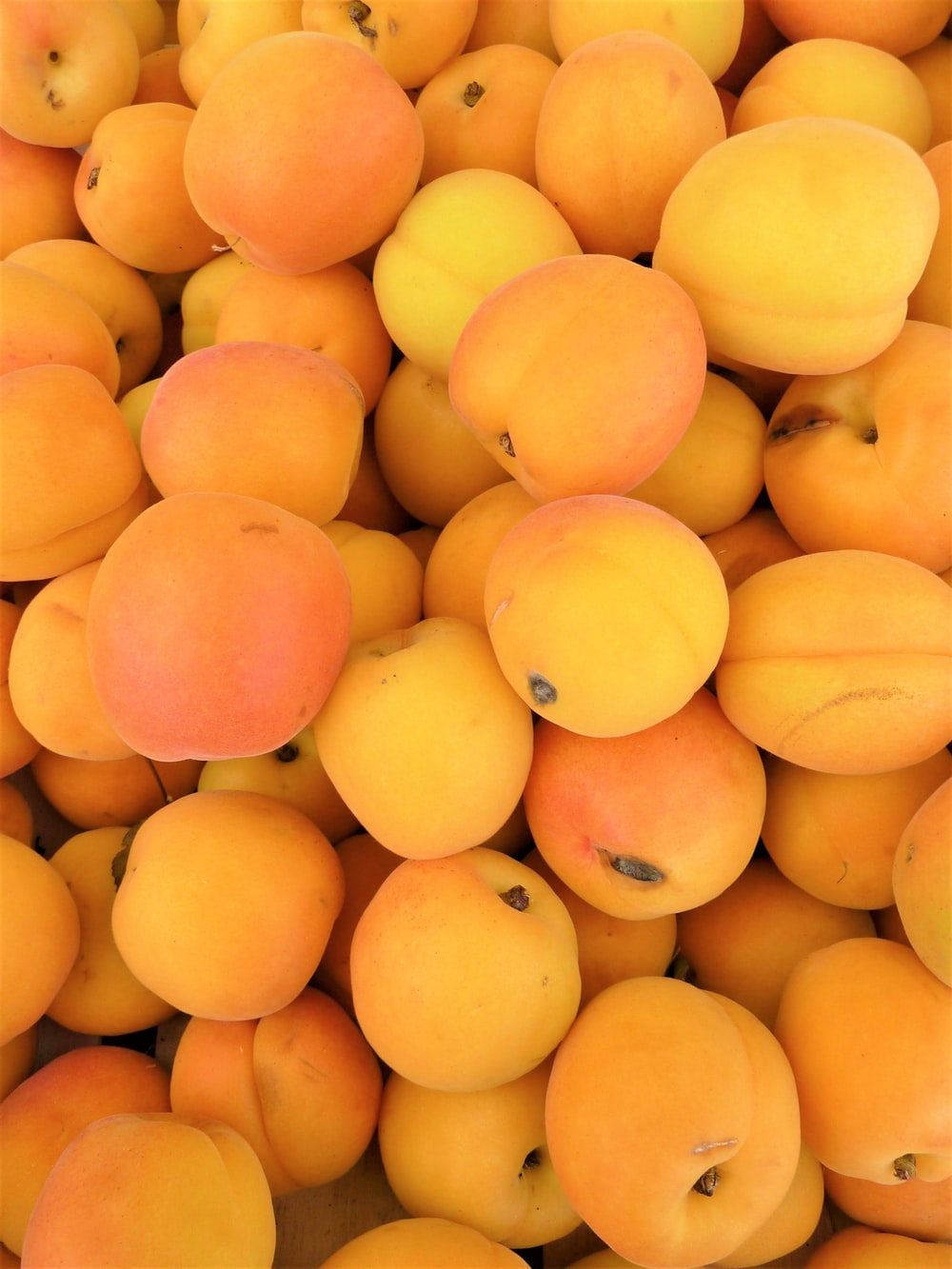 pile of yellow fruits