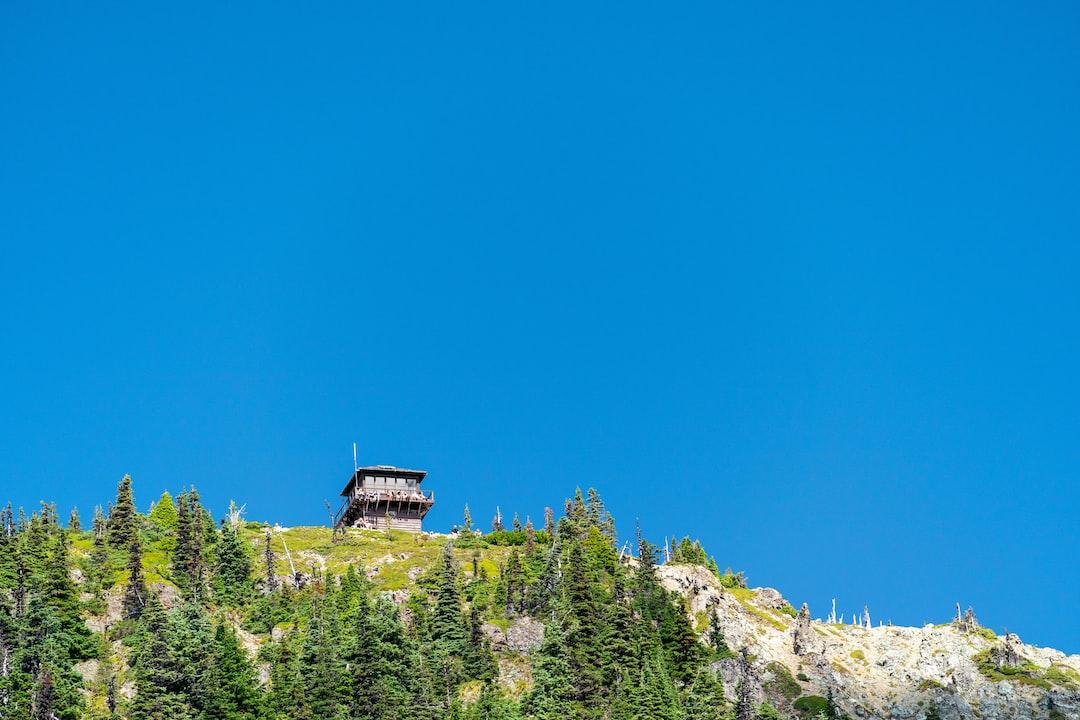Tolmie Peak lookout tower
