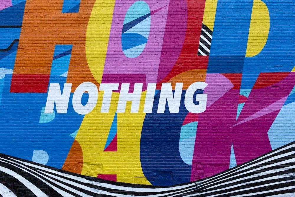 Nike Nothing Hold Back illustration
