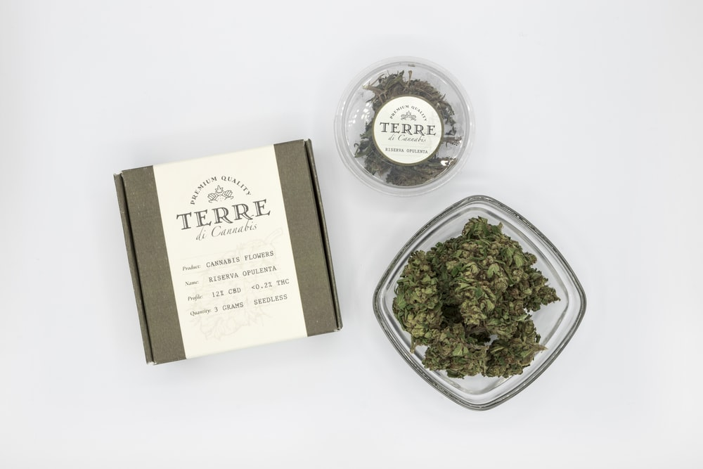 Terre herb in bowl with box and small case