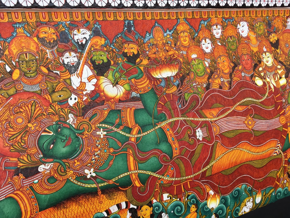 Indian Deity painting