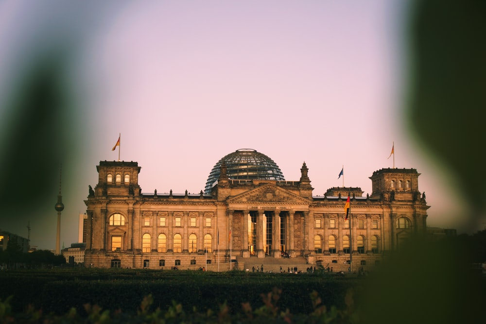 Reichstag building, Germant